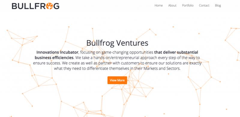 Bullfrog home page