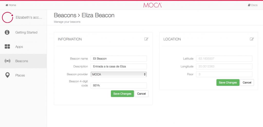 MOCA_Beacon Editor