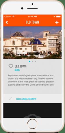 Old Town Benidorm