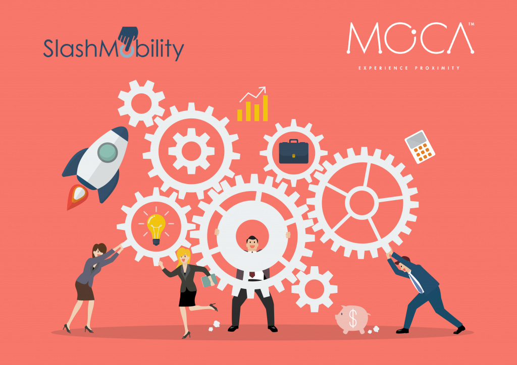 Partnership Moca Platform and Slash Mobility