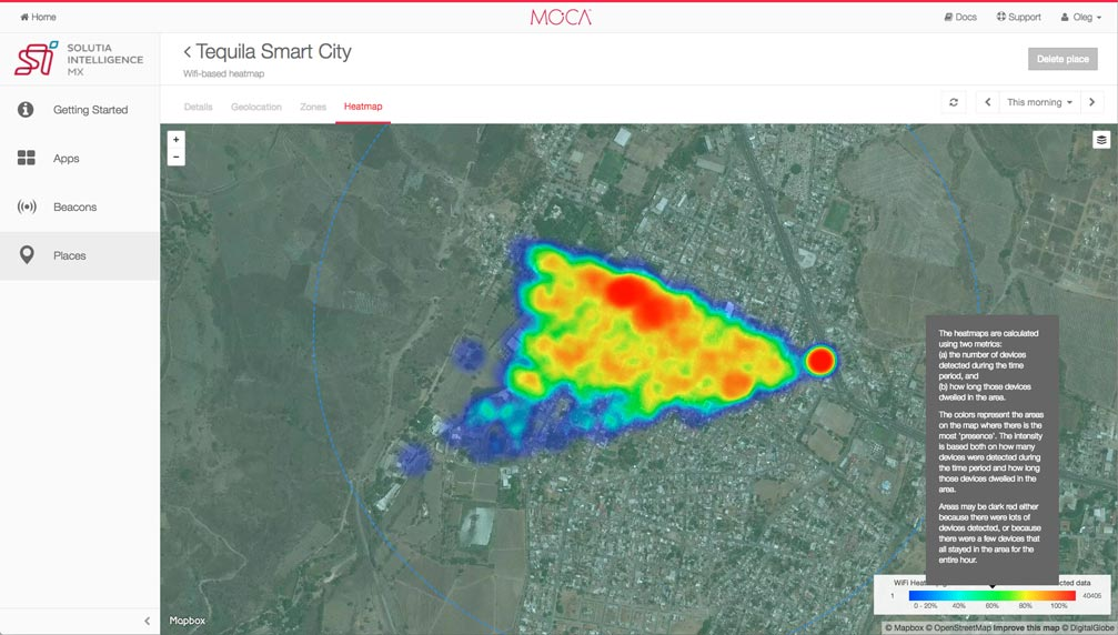 Tequila_WIFI_Heatmap smart cities